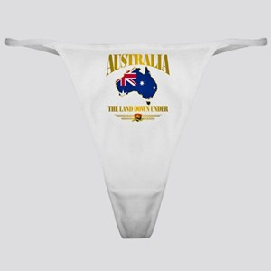 """Land Down Under"" Classic Thong"