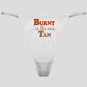 Burnt is the new Tan Classic Thong
