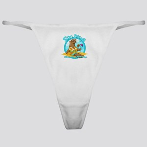 San Diego Seal of Approval Classic Thong