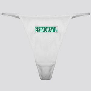 Broadway (with Statue of Liberty), N Classic Thong