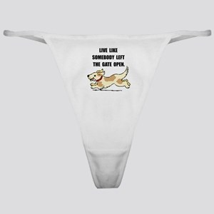 Dog Gate Open Classic Thong
