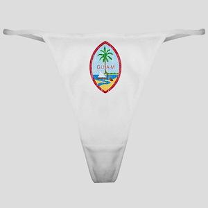 Guam Coat Of Arms Classic Thong