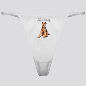 Airedales: Why you can't have nice t Classic Thong