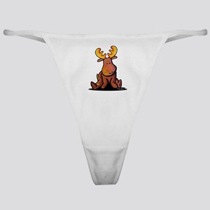 KiniArt Moose Classic Thong