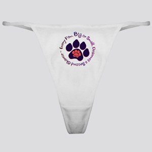 Every Paw Classic Thong