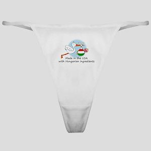 Stork Baby Hungary USA Classic Thong