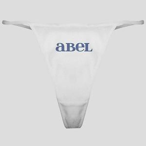 Abel Blue Glass Classic Thong