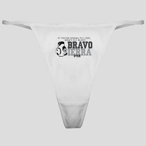 Bravo Sierra Avaition Humor Classic Thong
