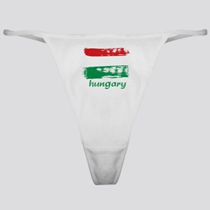 Hungary Classic Thong