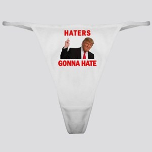 Trump Haters Classic Thong