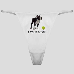 Boston Terrier Life Classic Thong