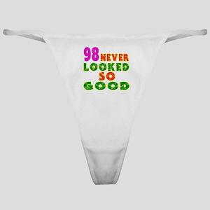 98 Birthday Designs Classic Thong