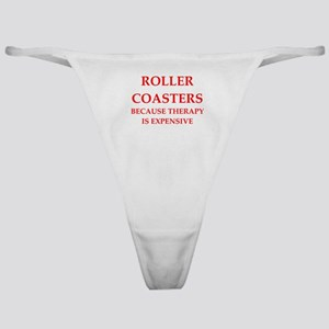 roller coaster Classic Thong