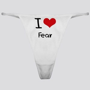 I Love Fear Classic Thong