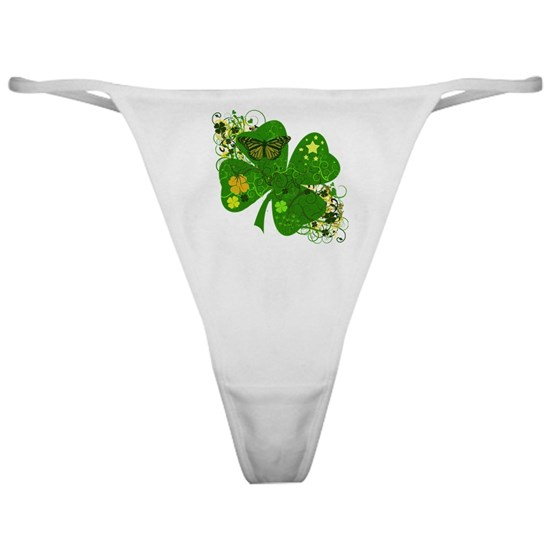 Irish Clover Art Abstract
