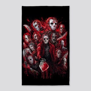 12 Jasons Friday the 13th Area Rug