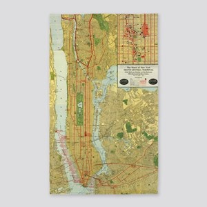 Subway Map Tapestry.New York City Subway Map Area Rugs Cafepress