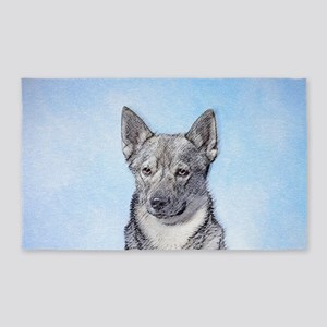 Swedish Vallhund Area Rug