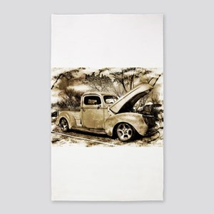 1940 Ford Pick-up Truck Area Rug