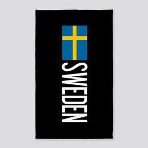 Sweden: Swedish Flag & Sweden Area Rug
