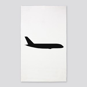 Airbus A380 (side) 3'x5' Area Rug