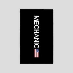 Mechanic: American Flag Area Rug