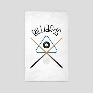 Billiards Area Rug