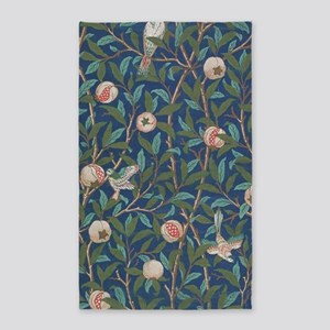 Bird and Pomegranate by William Morris Area Rug
