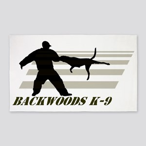 Backwoods K-9 3'x5' Area Rug