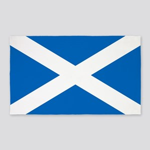 Scottish Flag 3'x5' Area Rug