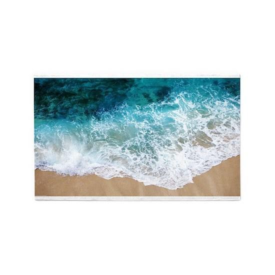 Water Beach Area Rug By Adrianne Desire