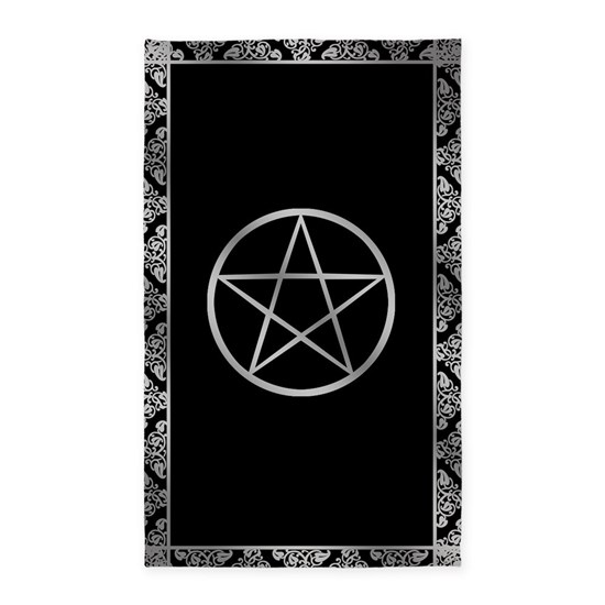 Silver Wiccan Pentacle