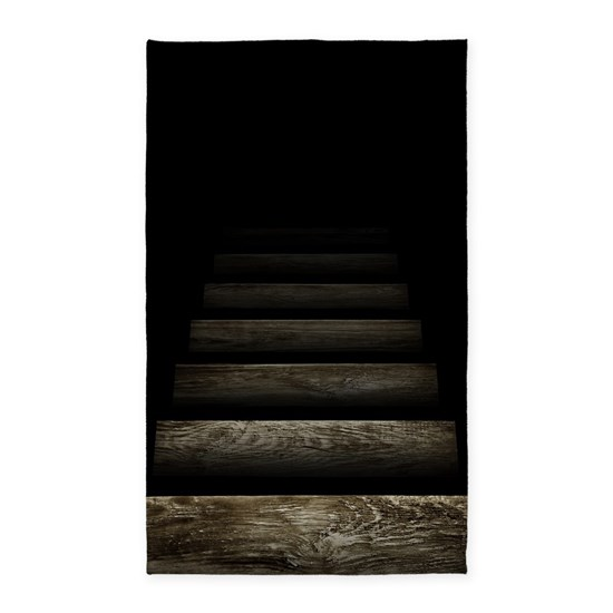 Trapdoor Staircase Area Rug By