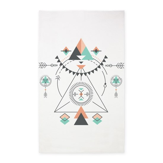 Modern Geometric Tribal Totem Design
