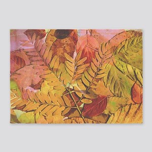 Autumn Leaves Area Rugs Cafepress