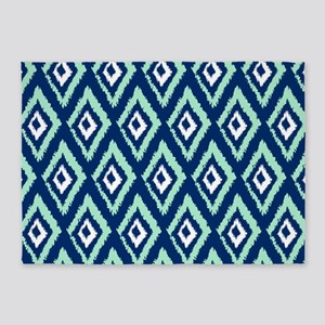 Navy Blue And Green Area Rugs Cafepress