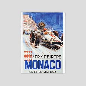 Monaco Grand Prix Area Rugs Cafepress
