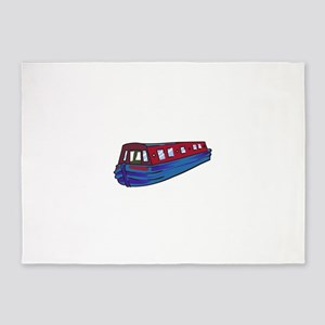 NARROW BOAT 5'x7'Area Rug
