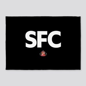 Sunderland SFC -full bleed 5'x7'Area Rug