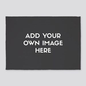Add Your Own Image 5'x7'Area Rug