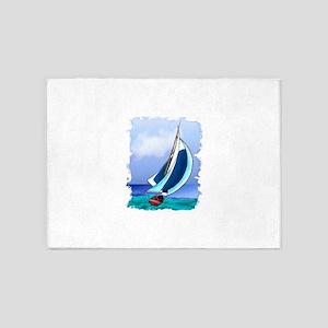 f7146e02 Sailboat Area Rugs - CafePress