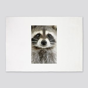 Raccoon 5'x7'Area Rug