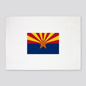 Flag of Arizona 5'x7'Area Rug
