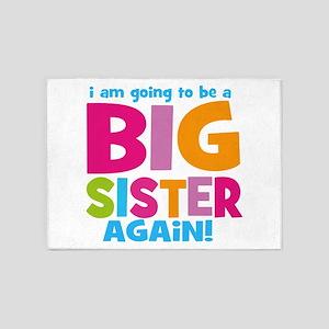 Big Sister Again 5X7 Area Rugs - CafePress