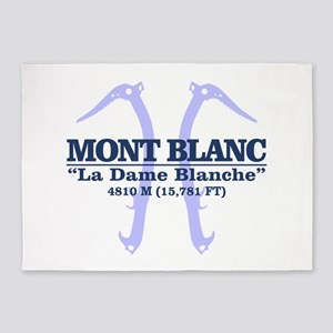 Mont Blanc 5'x7'Area Rug