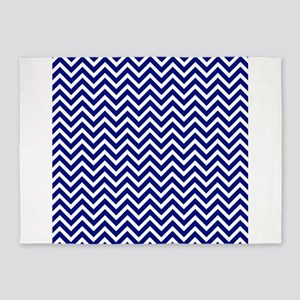 Chevron Royal Blue Area Rugs Cafepress