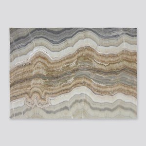wholesale dealer 92818 ec2c9 abstract chic white marble 5 x7 Area Rug
