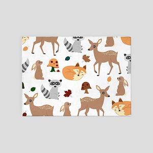 Woodland Animal Rugs Area Rug Ideas