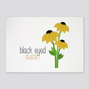 Black-Eyed Susan 5'x7'Area Rug