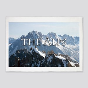 THE ALPS PRO PHOTO 5'x7'Area Rug
